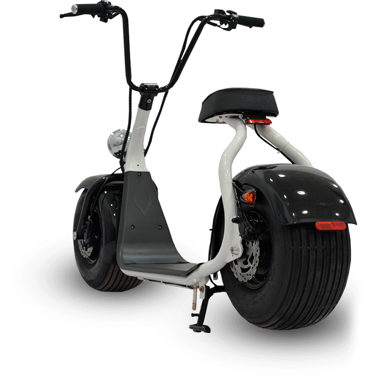 The star product of Emagine Tours: MonsteRoller e scooter