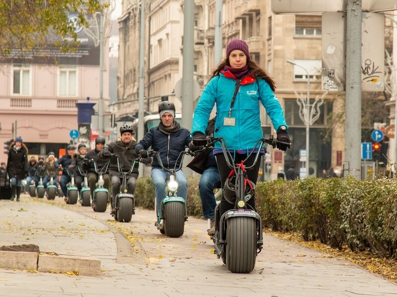 Fun & safe electric scooter tours in Budapest for dmc, corporate and leisure groups