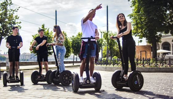 Guided Segway tour with guests