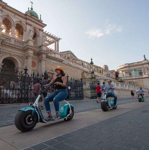 safe private and small-group electric scooter tours in Budapest post-covid-19